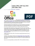Membuat Tampilan Office 2007 Dan 2010 Seperti Microsoft Office 2003