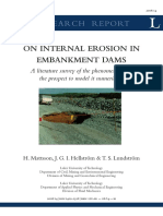 Internal Erosion in Embankment Dams - Research Report on.pdf