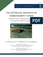 Internal Erosion in Embankment Dams - Research Report on.pdf