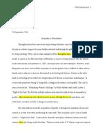 edwin english essay 1