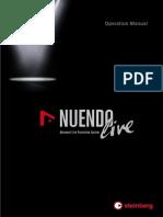 Nuendo Live Operation Manual En