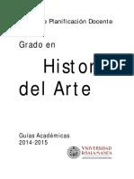 Grado Historia Arte PF 2014-2015 0