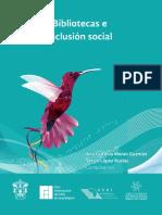 XII cib 2015 Bibliotecas e inclusion social