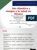 01 Cambio climático y riesgos a la salud - INSP2014 (Horacio Riojas).pptx