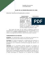 Inversiones Panamericano - Infraccion
