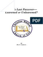 Booklet Christs Last Passover Leavene