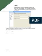 Advance Reserver Editor