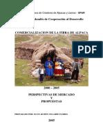 Alexxxxxxx.- Estudio Comercializaci n Fibra de Alpaca 2005 1 Ruben Velarde