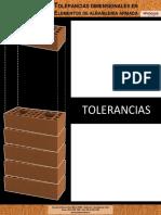 7596 PRINCESA - Tolerancias Dimensionales en Elementos de Albanileria Armada