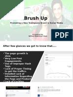 Sample of Social Media Marketing Presentation