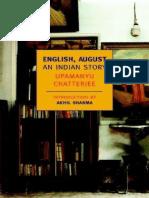 English, August - Upamanyu Chatterjee