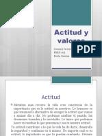 presentacion de seminario actitud y valores