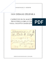 -Zelenka Capriccio ZWV 184 Score