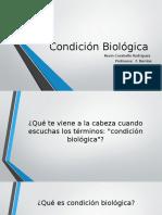 condicion biologica