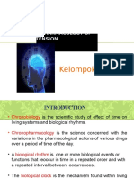 Chronopharmacology of Antyhipertension
