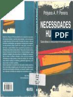 PEREIRA, Potyara. Necessidades Humanas - Subsidios à Critica dos Mínimos Sociais.pdf