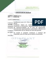 Certificado de Opseplant