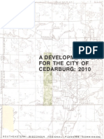 A Development Plan for the City of Cedarburg