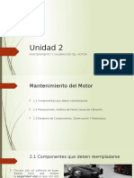 2.1 Mantenimiento y calibración de un motor