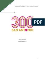 Economic Impact Report SA 300