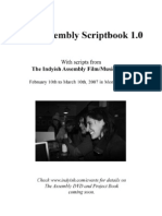 The Assembly Scriptbook 1.0 (Indyish.com)