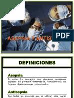 ASEPSIA Y ANTISEPSIA CLASE.ppt