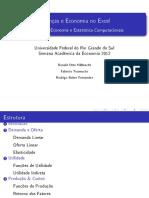 Finanças e Economia No Excel
