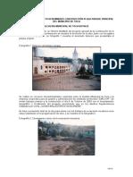 Informe de Obra Tocancipa 2015