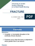 Fracture Pp Ahmad Aqel 2013