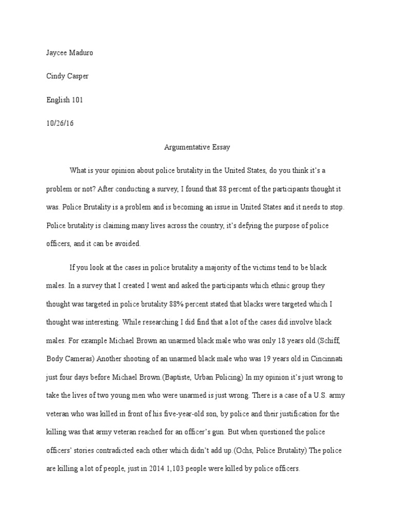 ethnicity and police essay This essay has been submitted by a law student this is not an example of the work written by our professional essay writers racial profiling and the police.