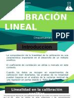 Calibracion Lineal