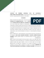 8. Juicio Ordinario de Daños y Perjuicios Grupo No. 8
