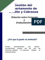 Relacion Entre Consumo y Endeudamiento