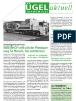 WIESENHOF Newsletter Juli 2009