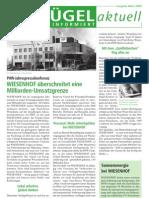 WIESENHOF Newsletter März 2009