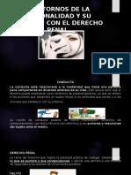 Ppt. Trastornos y Derecho Penal