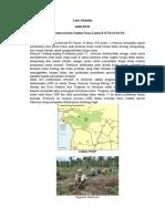 Evaluasi Konservasi Sumber daya Lahan