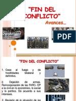 Fin Del Conflicto. Apartir de Comunicado Conjunto -Febrero de 2016