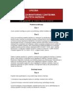 UREDBA o uslovima za monitoring_0.doc