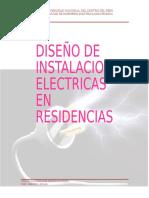 Diseño de instalaciones eléctricas en  residencias.