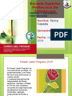 Expo Flower Label