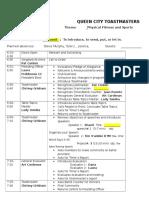 Example Meeting Agenda