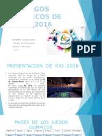 Juegos Olimpicos de Rio 2016