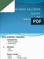 Dr. Nurman - Kelainan Pada Saluran Nafas