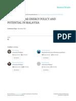 Current Solar Energy Policy.... (k.h. Solangi Et Al.)