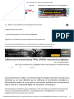 Calibración de Transmisores PASO a PASO_ Instrumentos Digitales
