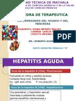 Terapeutica Enf. Hepaticas y Del Pancreas Grupo 3