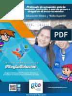 Protocolo Actuacion Presencia Armasdrogas Entorno Escolar