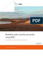 Modelling Water Quantity and Quality Using SWAT