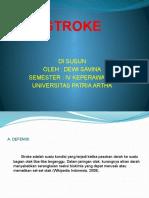 Dewi Safina Stroke